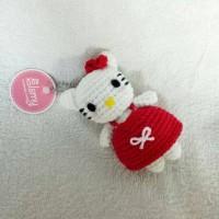 Amigurumi Hello Kitty boneka /gantungan