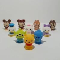 Jual Disney Tsum tsum Mini Figure Set/Topper Cake/Hiasan kue 10 pcs Murah