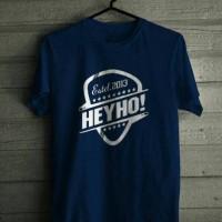 T-Shirt HeyHo -Kaos Oblong -Kaos Murah -Baju Distro
