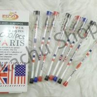 Pulpen Gel Paris Bendera Esco
