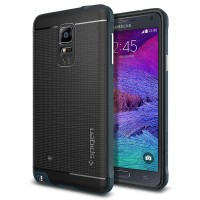 Samsung note 3 4 case back cover casing softcase hp SPIGEN NEO HYBRID