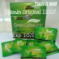 Green Coffee 1000 Original // Leptin Green Coffee // Kopi untuk diet