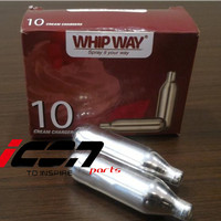 Refill Whipping Charger Gas N2O Cream Dispenser Whipway Whip Way