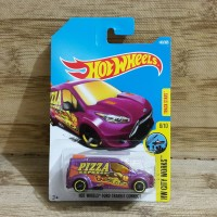 DIECAST HOT WHEELS FORD TRANSIT CONNECT PIZZA EXPRESS HW CITY WORKS