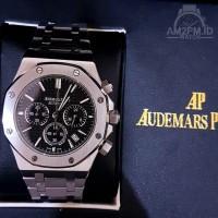 Jam Tangan Audemars Piguet Chronograph Silver Case