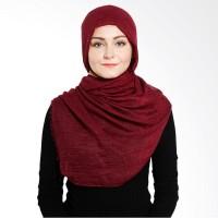 Jilbab Elzatta Selma Malinda Pashmina - Maroon.