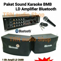 Paket Sound Karaoke BMB 8 in + Amplifier LD268B