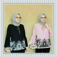 Tunik/baju Wanita/sabrina/baju Atasan/karina Blouse
