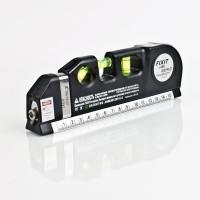 Waterpass digital Laser Level Measure Tape Aligner Ruler gratis batrei
