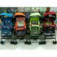 Jual Stroller Dorongan bayi Pliko Techno murah Terbaru Cantik Bagus Murah