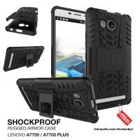 Lenovo A7700 Plus Shockproof Hybrid Hard Soft Case casing cover bumper