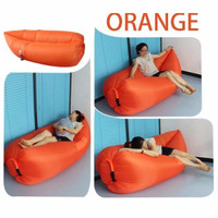 Jual Sofa Angin Lazy Sofa Lazy Air Bag ( Orange) Murah