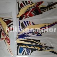 Stiker Lis Striping Stripping Motor Yamaha X-Ride Xride 2013 2014