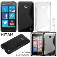Nokia Lumia 630 - Stylish TPU Soft Case Silikon Casing Back Cover Hp