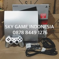 PS3 SLIM OFW 320GB REFURBISHED in SILVER