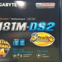 MOTHERBOARD GIGABYTE H81M-DS2 SOCKET 1150