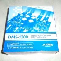 harga Platinum Dms-1200 Kit Power Stereo Active Speaker 2 Mic Subwoofer Tokopedia.com