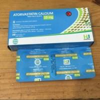 Atorvastatin 10 mg obat kolesterol generik lipitor harga 1 box