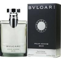 Original Nobox Parfum Pria Bvlgari Bulgari Pour Homme Soir EDT 100ml