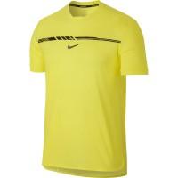 Baju Tennis Nike Rafa Challenger - Yellow Original