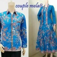 harga Baju Batik Couple Sarimbit Seragam Pesta Hijab Kutubaru Muslim Wanita Tokopedia.com