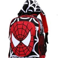 GYN 5877, Tas/Backpack/Ransel/Sekolah anak/Laki-laki/Cowok/Spiderman