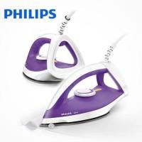 Jual Setrika Baju Pakaian Philips Dry Iron Spray GC 122 UNGU Terbaru Murah Murah