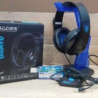 Headset Gaming Game Murah Terbaik Headsets Head Set Sades TPower 701