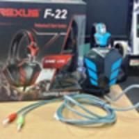 Jual Headset Headsets Rexus Head Set Gaming Pro F22 Game Headphone Murah Murah