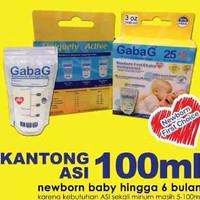 Gabag kantong asi 100ml/plastik asi gabag 100ml/Breastmilk Gabag Isi 3