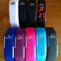 [HOT TREND] Jam Tangan Gelang TVG Adidas / Nike /Puma LED Watch