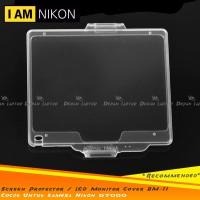 Tempered Glass Screen Protector Pelindung LCD Cover BM-11 Nikon D7000