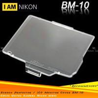 Acrylic Screen Protector Pelindung LCD Monitor Cover BM-10 Nikon D90