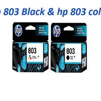 HP cartridge 803 Black & HP cartridge 803 Color (1set) Original