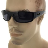 kacamata -Locs Black OG Original Gangster Sunglasses Shades Mens Dark