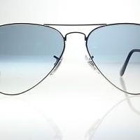 kacamata -Original Ray Ban RB3025 003/3F Aviator Silver Frames Gradien