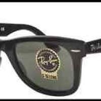 kacamata -Original Ray Ban RB2140 901 Wayfarer Black Frames G-15 Lens