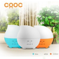 Waterdrop Air Humidifier Aroma Oil Diffuser Light 7 Colours -300 ml