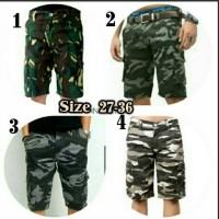 Jual Celana Pendek Cargo Army Murah