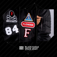 HOT PROMO BOMBER BLACK EAGLE SPACE ARMY