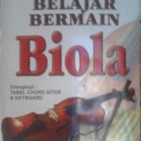 Buku Belajar Bermain Biola