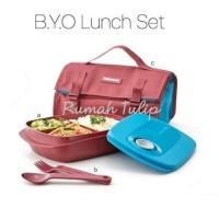 Tupperware B.Y.O (Bring Your Own) Lunch Set, Tempat Bekal, Meal Box