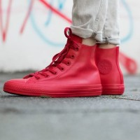 Converse Hi Top Red Rubber Limited Edition Size 42.5 Sepatu Sneakers
