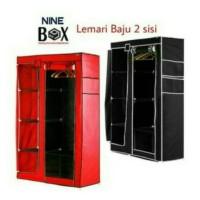 Lemari baju / stronge box / rak pakaian merk NINE BOX type DW