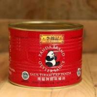 lee kum kee panda brand oyster sauce / saus tiram cap panda kaleng