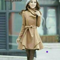 Jual richies blazer cardi coat jaket bahan fleece all size Murah