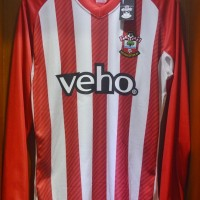Jersey Sepak Bola Original Southampton Home 2014/15 Long Sleeve