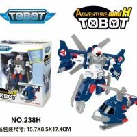 Tobot Mini H Transform Helikopter Mainan Anak Koleksi