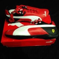 harga Sepatu Casual Kulit Puma Ferrari Future Cat Sf Red 100% Original Tokopedia.com