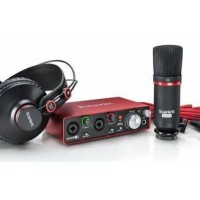 Sound Card Focusrite Scarlett 2i2 Studio Pack 2nd Second Gen Original